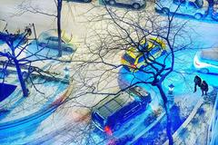 New York City Snow Sceen