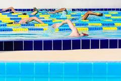 Pool Swimmers Miami Beach