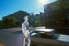 Silver Man in the Bronx