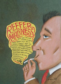 Reefer Madness, Cover Atlantic Monthly Magazine  August 1994