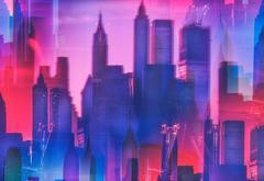 Lower Manhattan Multiple Exposure