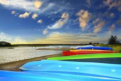 Colorful Boats, East Hampton