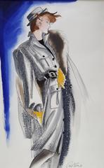 Vogue USA, Fashion Illustration
