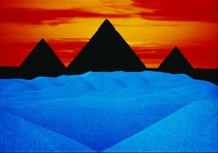 Surreal LandScape Photograph Four Pyramids, Cover Popular Photography Magazin