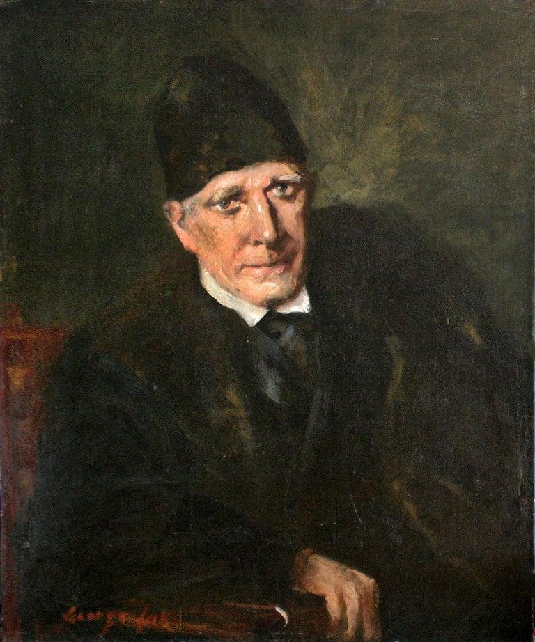 George Luks Portrait Painting - Portrait of an Old Man