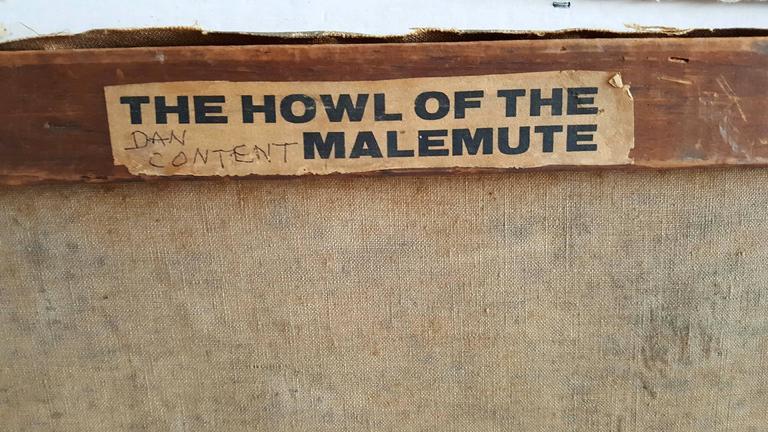 Alaskan Huskie  - The Howl of the Malemute For Sale 1