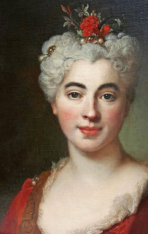 Nicolas De Largilliere Portrait Of Elisabeth Marguerite