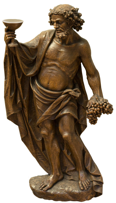Pietro Vinotti A Monumental Wood Wall Sculpture Of