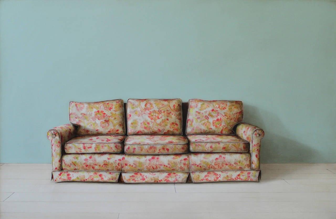 Holly Farrell Still Life Painting   Sofa