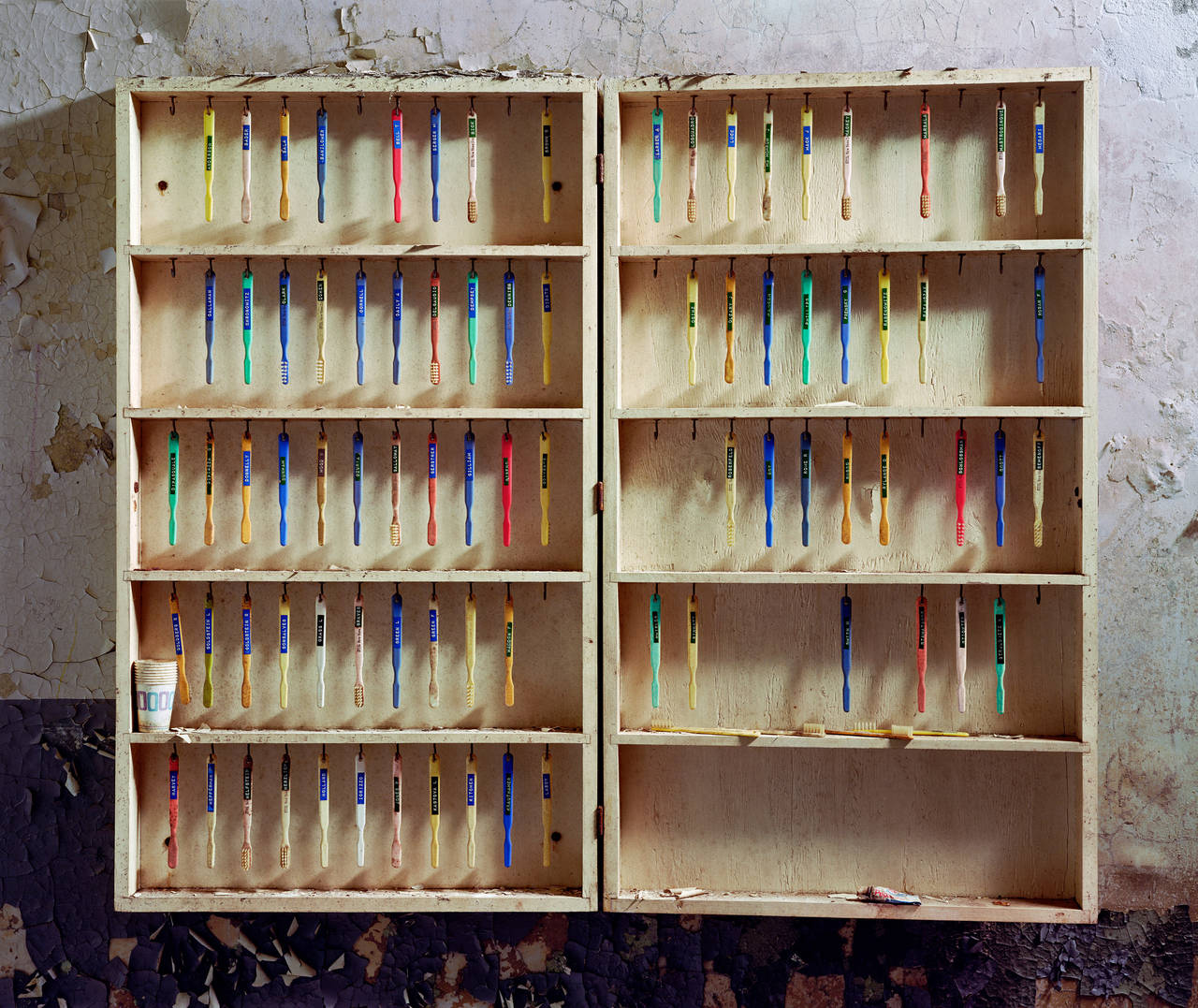 Patient Toothbrushes, Hudson River State Hospital