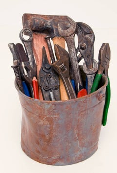 Jake's Tools with Green Pliers