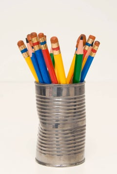 Pencil Can with Eraser
