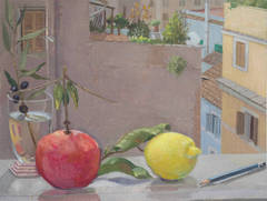 Still Life on Window Sill, Rome