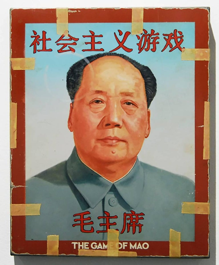 The Game of Mao - Mixed Media Art by Tim Liddy