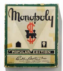 circa 1938 Monopoly