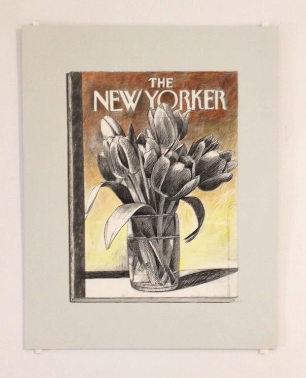 Richard Baker Still-Life Painting - The New Yorker