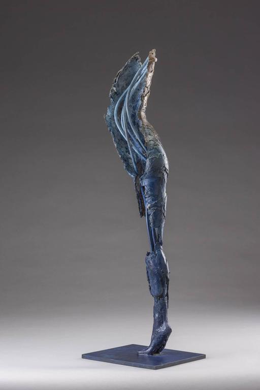 Ushabti Tefnet (Lunar Goddess of Water) - Sculpture by Blake Ward