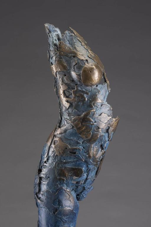 Ushabti Tefnet (Lunar Goddess of Water) - Contemporary Sculpture by Blake Ward