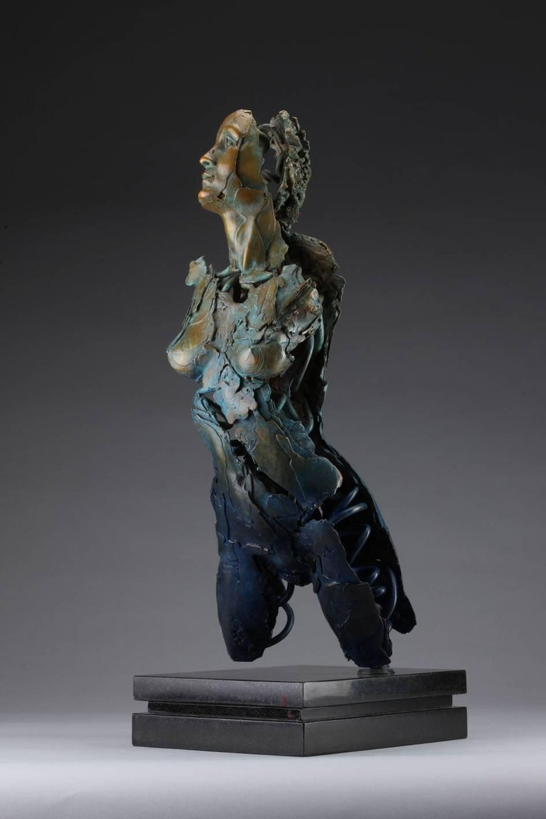 Blake Ward Figurative Sculpture - Angel Valoel