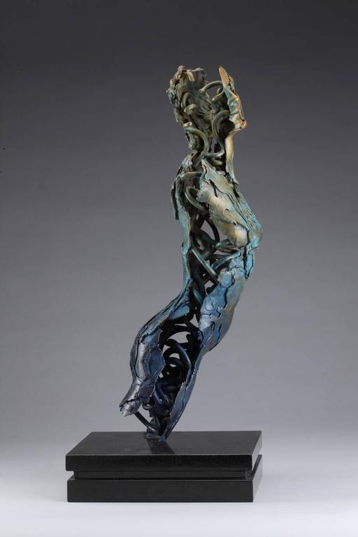 Angel Valoel - Contemporary Sculpture by Blake Ward