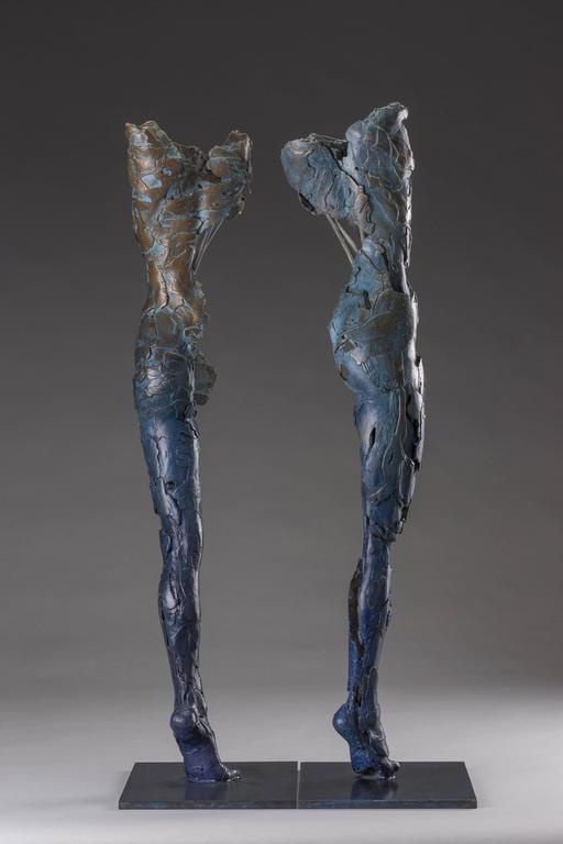 Ushabtis Hetheru & Hathor - Sculpture by Blake Ward