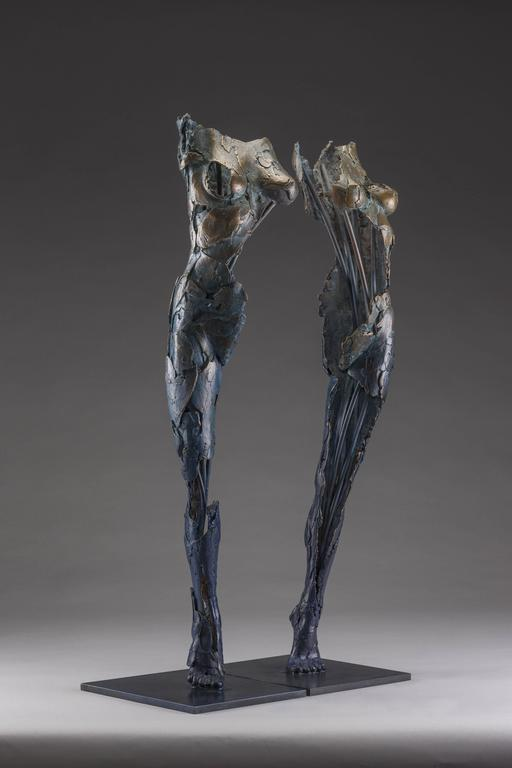 Ushabtis Hetheru & Hathor - Contemporary Sculpture by Blake Ward