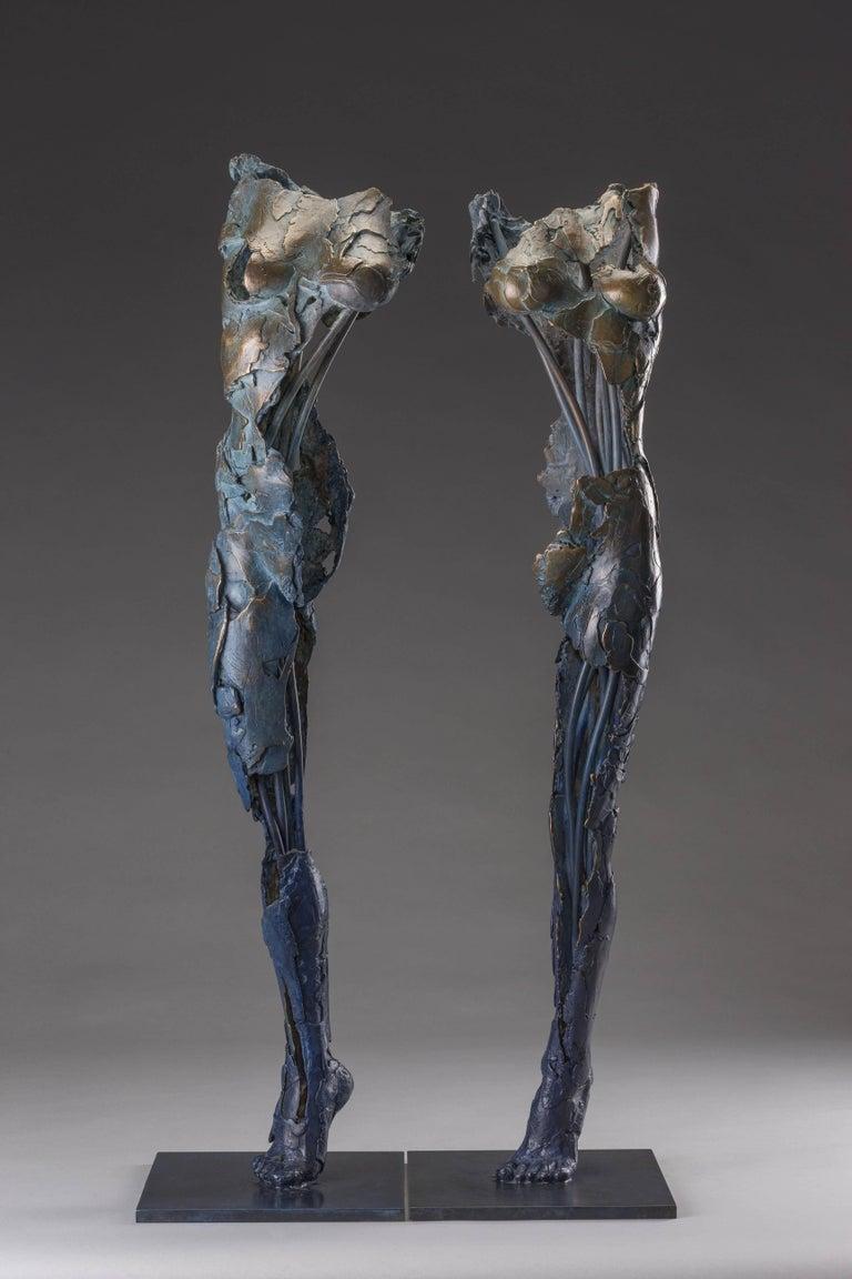 Blake Ward Figurative Sculpture - Ushabtis Hetheru & Hathor