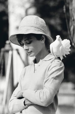 Audrey Hepburn with Dove
