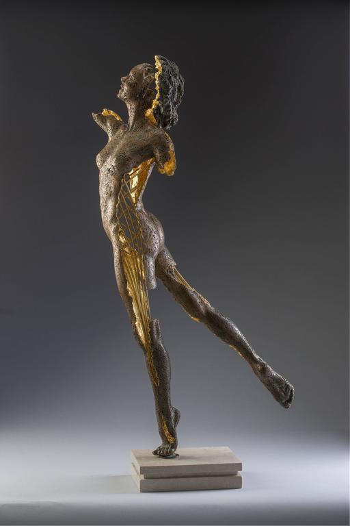Blake Ward Nude Sculpture - Phantom Zella (The Shadow Phantom)