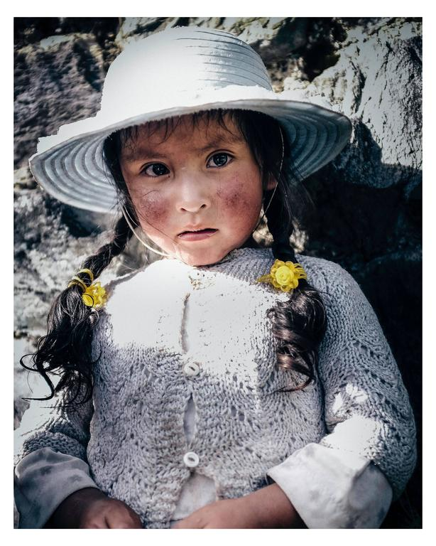 Zack Whitford Portrait Photograph - Quechuan Girl