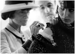 Coco Chanel Paris Sewing 1962