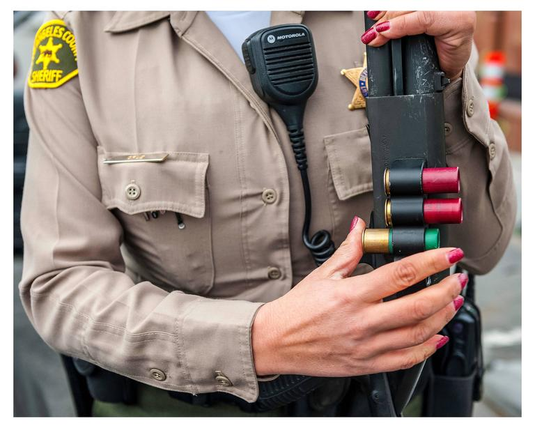 Zack Whitford Color Photograph - Bullets and Nails