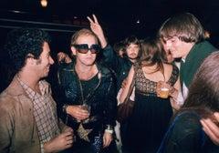 David Geffen, Elton John, Carly Simon and James Taylor, 1974