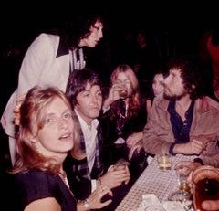 Linda and Paul McCartney, Sara and Bob Dylan, Cher & Gregg Allman, 1976