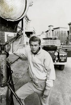 Steve McQueen with light