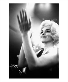 Marilyn Monroe at the Golden Globes in the Beverly Hilton Hotel, 1962