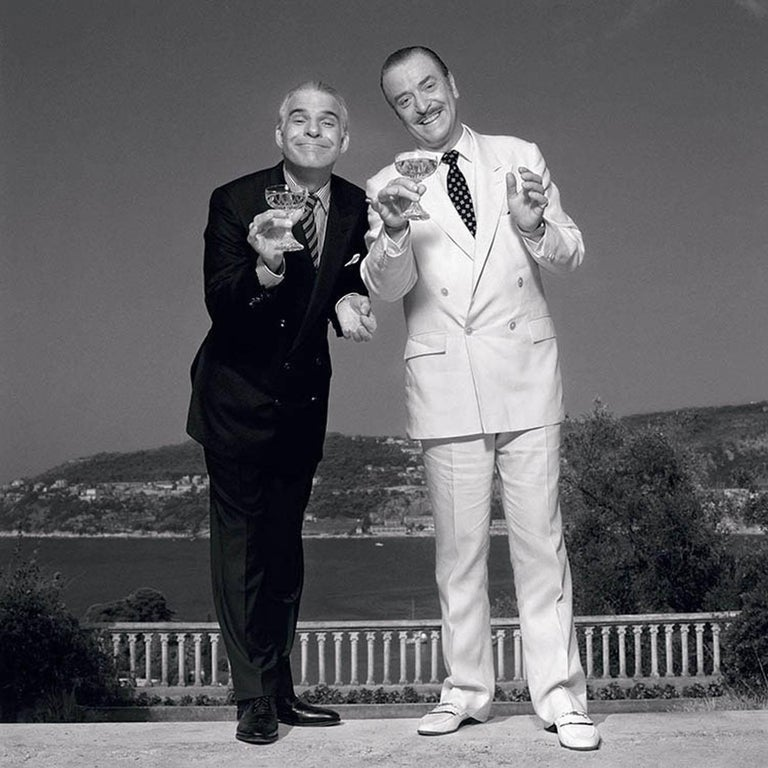 Terry O'Neill Black and White Photograph - Dirty Rotten Scoundrels