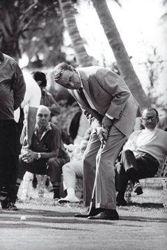 Frank Sinatra Golfing