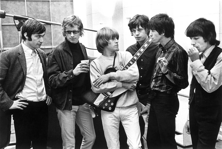Julian Wasser Black and White Photograph - The Rolling Stones, 1965