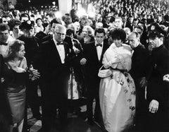 Liz Taylor at the Oscars, 1961