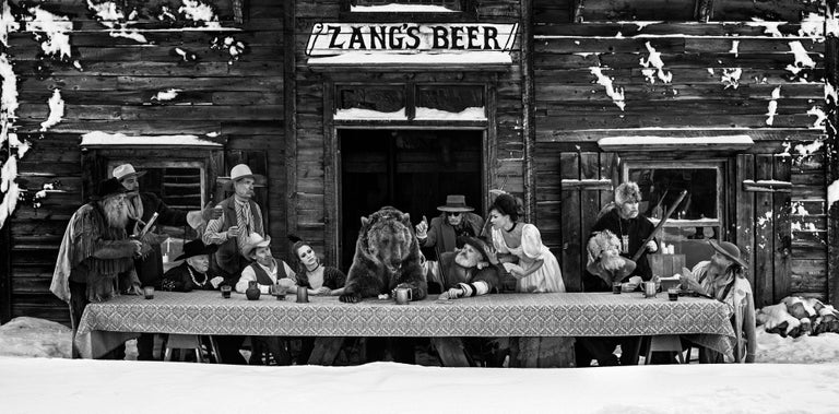 David Yarrow Black and White Photograph - The Last Supper