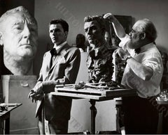 Frank Sinatra - Study for a Bronze Bust