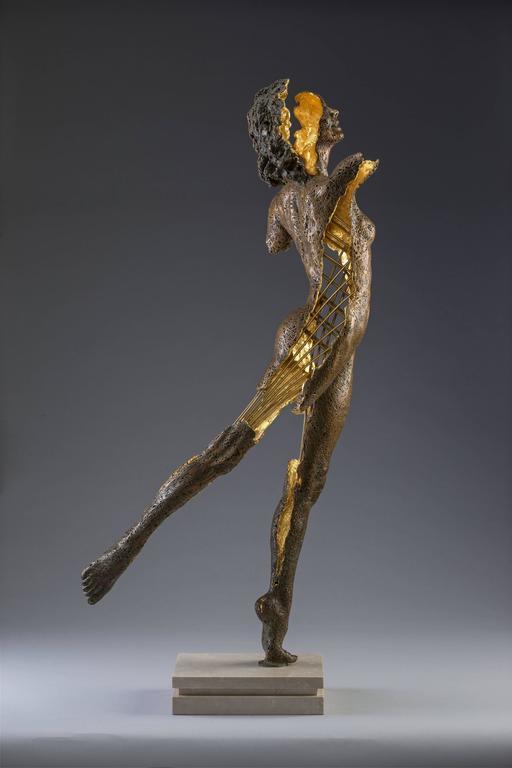 Phantom Zella (The Shadow Phantom) - Sculpture by Blake Ward