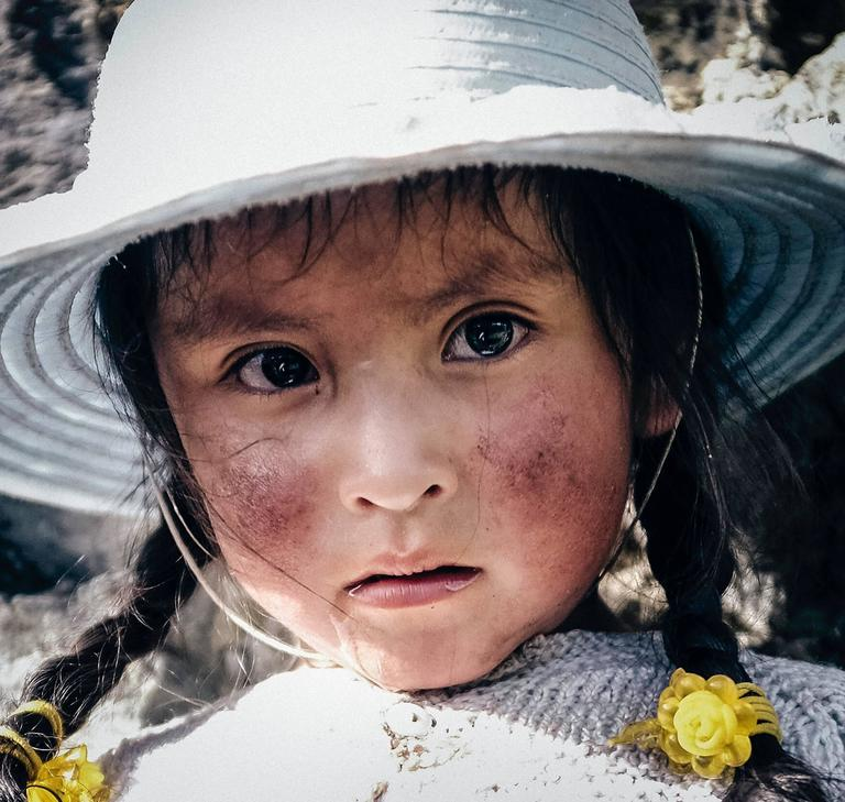 Quechuan Girl - Photograph by Zack Whitford