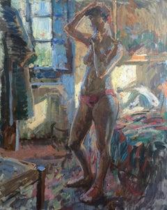 Blue Light Nude, Bea