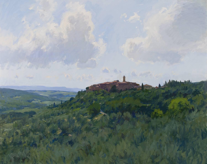 Castelmuzio, Backlit