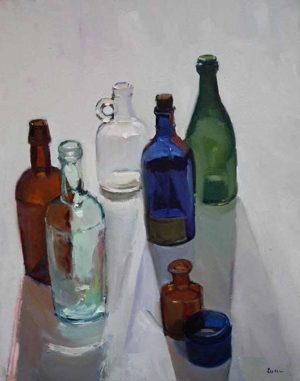 Light Through Old Bottles