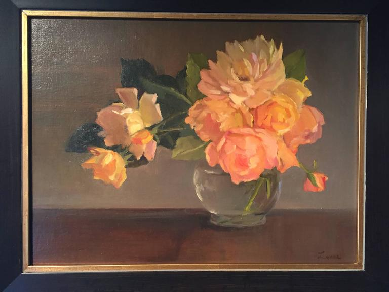 Summer Glow - American Impressionist Painting by Maryann Lucas