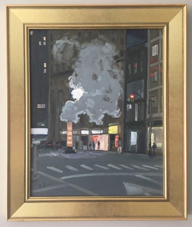 Hard Boiled - Painting by Benjamin Lussier