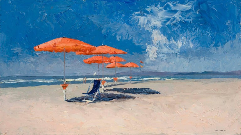 Nelson H. White - The Red Umbrellas 1